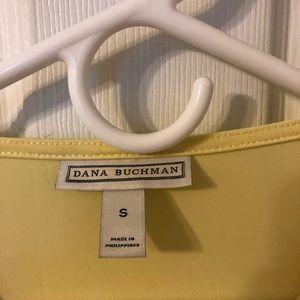 Dana Buchman Tops - Dana Buchman butter yellow liquid knit top